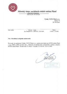 Městský ústav sociálních služeb města Plzně - Kotíkovská 15