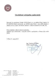 Městský ústav sociálních služeb města Plzně - servis