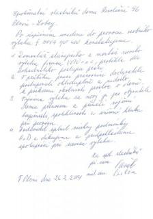 Společenství vlastníků domu Revoluční 96 Plzeň - Lobzy