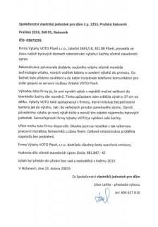 SVJ pro dům č.p.2253, Pražská, Rakovník