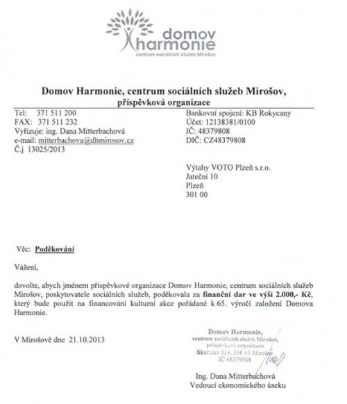 Domov Harmonie, Mirošov č.4