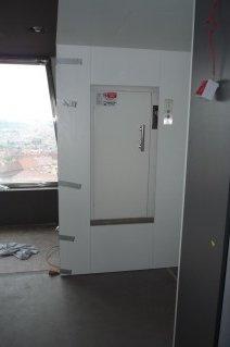 Nákladní výtah v Žižkovské restauraci