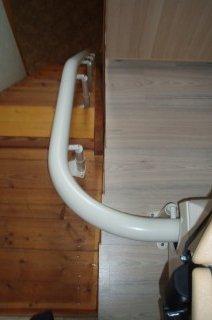 Výtah na schody v rodinném domě