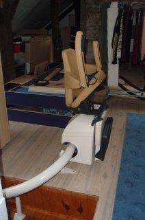 Instalace sedačky v rodinném domě