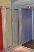 Výtahové dveře hydraulického výtahu Kadaň