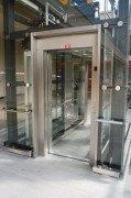 Osobní lanový bezstrojovnový výtah FREE-VOTOlift v OD Centrum Plzeň