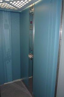 Kabina osobního hydraulického výtahu Kaznějov