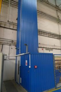 Instalace osobního výtahu v BRUSH SEM v Plzni