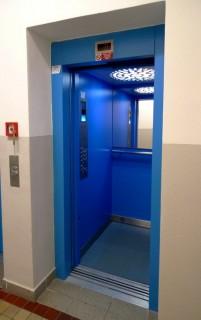 Montáž výtahů pro ŘSD ČR v Plzni