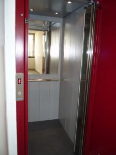 Kabina osobního výtahu Plzeň