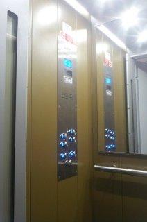 Kabina hydraulického výtahu