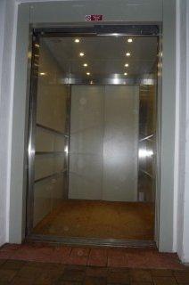 Kabinový prostor nákladního výtahu