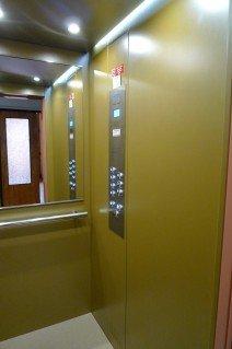 Kabinový prostor výtahu