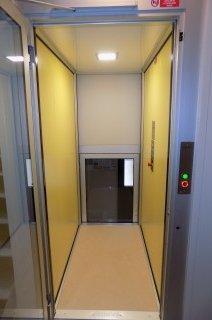 Kabina výtahu Klatovy