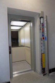 Rekonstrukce výtahu v bytovém domě v Plzni
