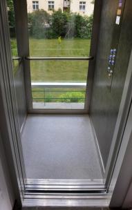 Venkovní výtah - kabina