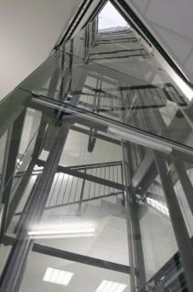 Bezstrojovnový výtah FREE-VOTOlift v Poděbradech