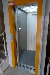 Rekonstrukce výtahu v Plzni