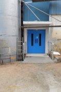 Nákladní lanový výtah v Berounské pekárně