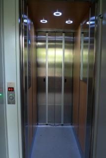 Modernizace výtahu v Horní Bříze