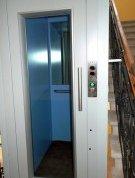 Kabina výtahu v Mariánských Lázních