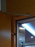 Kabina rekonstruovaného výtahu v Plzni
