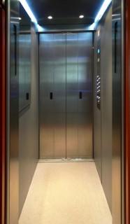 Kabinový prostor výtahu Plzeň